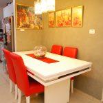 דירת גן 4 חדרים למכירה בשכונת הכרמים במודיעין - פינת אוכל